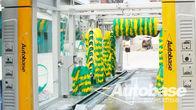 Porcellana Autolavaggio attrezzature con tre ventole di asciugatura soffiatore, sistemi di lavaggio rollover fabbrica
